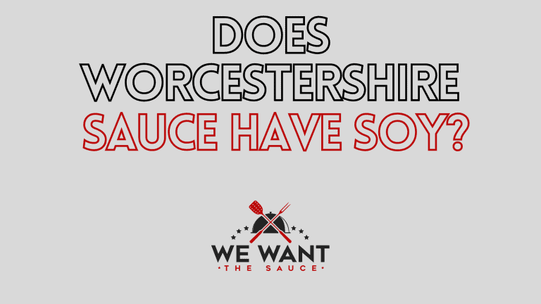 Does Worcestershire Sauce Have Soy?