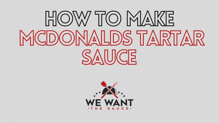 How To Make McDonalds Tartar Sauce