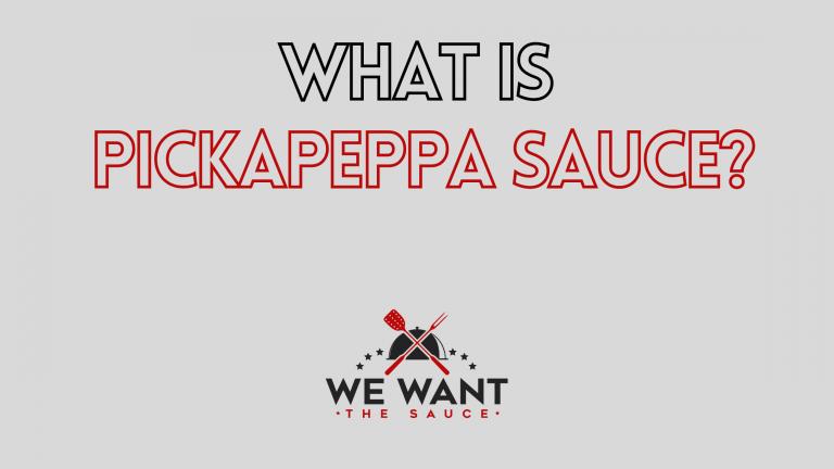 What Is Pickapeppa Sauce?