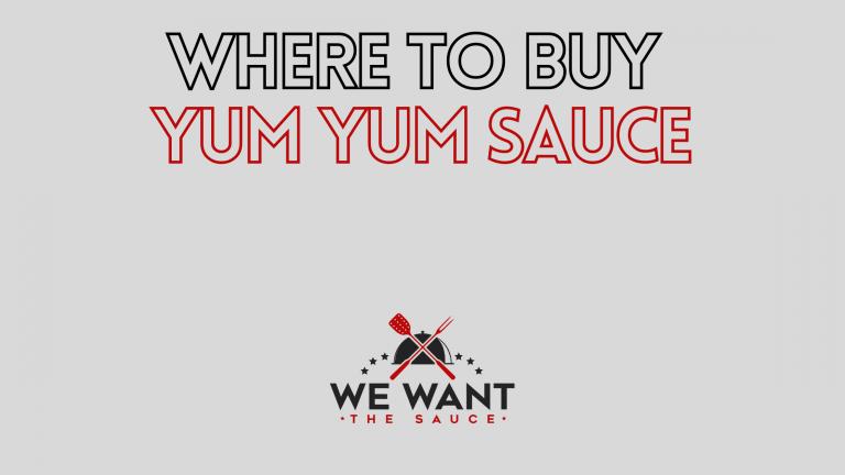 Where To Buy Yum Yum Sauce?